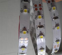 60 LED haute tension/mètre Couleur blanc chaud double 3528 SMD CCT Bande LED Flexible