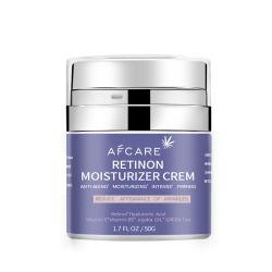 Mejor día y noche crema anti envejecimiento Anti Wrinkle orgánica Natural Retinol Crema Blanqueadora Crema Hidratante para cara