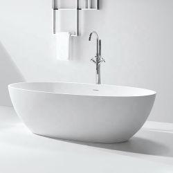 Independente da superfície sólida em acrílico de luxo / Banho de hidromassagem superfícies Corian banheiras de resina de pedra para projeto de hotel