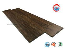 Le contreplaqué du grain du bois en vinyle PVC Wear-Resistant SPC WPC Cliquez sur les revêtements de sol