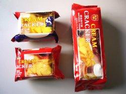 200g super nítidas Biscoito Cream Cracker lanche alimentar