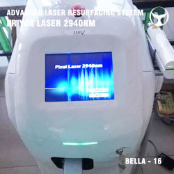 Дробное Seaheart Stretchmark Снятие мягкого глубокую ткани лазерной терапии Машины 2940нм Erbium YAG лазер с маркировкой CE