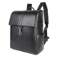 جديد مصمّم حقيبة أسود [نبّا] جلد حمولة ظهريّة الحاسوب المحمول حمولة ظهريّة حقيبة لأنّ رجل