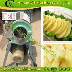 500kg/h multifonctionnelle de la faucheuse machine de découpe de pommes de terre végétale