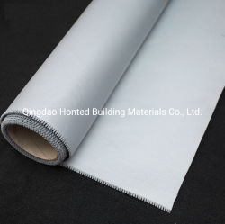 Alta Temperatura Anti-Fire pano de fibra de vidro resistente ao fogo pano de fibra de vidro/ revestido de borracha de silicone de PU para soldagem, Cortina de Incêndio