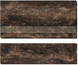 Двойной загружен остеклованные фарфора Stair-Tiles (AJ-9)
