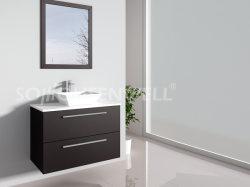 Meubles de salle de bain haut de gamme Brown de la Chine fournisseur salle de bain