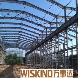 Structure légère en acier préfabriqués avec Gable Maison de toit