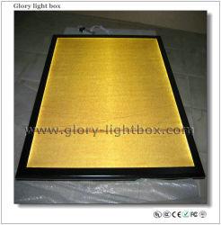 Snap Frame Slim noir en aluminium boîte à lumière (CB013)