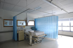 Medical Hospital descartáveis as cortinas do Compartimento