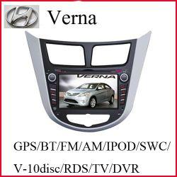 De Auto DVD van het Scherm van de aanraking voor Hyundai Verna met de Videorecorder van de Auto 1080p (k-6810)