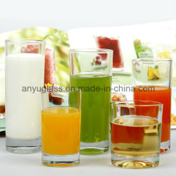 Tasse de thé/verre clair verre de jus de tasse/Mug de gros de bière en verre