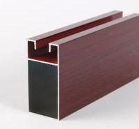 Perfil de aluminio de alta calidad para las ventanas y puertas