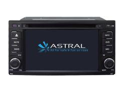 Subaruの森林官2008-2010年のための車GPSの運行DVDマルチメディアプレイヤー