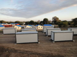 Fácil de instalar&Transporte Recipiente Self-Assembled Unidades de casa
