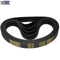 中国の熱い販売の耐久力のある高温度-抵抗のゴム製同期タイミングベルトアーク歯付きHtd20m