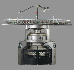 コンピュータ化されたジャカード織布の円の編む機械装置(YD-AD11)