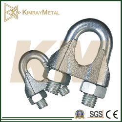 Томительноий-тягуч гальванизированный коммерчески тип зажим веревочки DIN741 провода