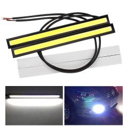 17cm ユニバーサルデイタイムランニングライト COB DRL LED カーランプ 外部ライト