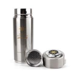 مصفى مخصص من قبل OEM، كوب ماء قلوية 304 هيدروجين وكومتوم جودة ضوء زجاجة نانو للطاقة
