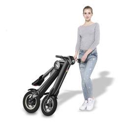 Mini La conception de roue se sent mode Scooter électrique vélo électrique pliable Mini vélo électrique Scooter électrique un vélo