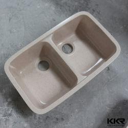 La porcelaine sanitaire moderne blanc de Surface solide des éviers de cuisine Undermount 190718