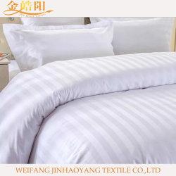 La pianura ha tinto la tela stabilita dell'hotel/ospedale dell'assestamento delle lenzuola del cotone del poliestere
