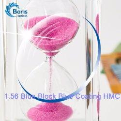 1.56 bloc bleu revêtement bleu de la console HMC lentille optique
