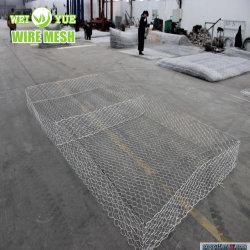 Het hexagonale Netwerk van de Draad van de Doos Gabion/Decoratieve Gabion Doos/Gabion China