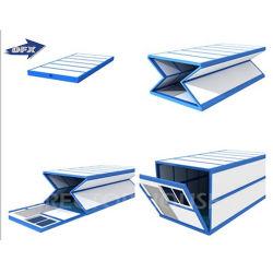 Heißer Verkaufbillig faltbarer Portable, der beweglichen modularen Fertigbehälter-Haus-Installationssatz faltet