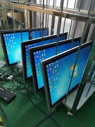 눈부심 방지 터치 스크린 LCD 디스플레이 LED가 있는 디지털 사이니지 광고 재생기 조명