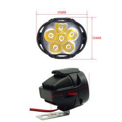 Super Power LED Moto 6 Faróis Chip LED 3030 Lâmpadas Automático