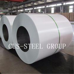 공장 Ral9003 PVC는 플레스틱 필름을%s 가진 강철 코일 PPGI를 Prepainted