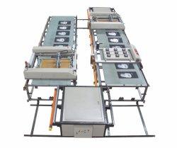 Écran plat automatique de la série SPT imprimante pour l'impression en cuir avec laser la faucheuse