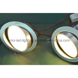 WiFi Dimmable LED Downlight 120degreesのビーム角