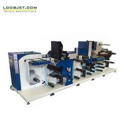 A impressão digital combinado com acabamento em linha processa