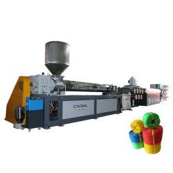 Le PEHD filet de pêche d'extrusion de fibres de la machine / PP la corde de fils de nylon monofilament de Pet faire de la ligne de production
