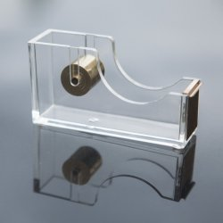 Erogatore acrilico del nastro dell'oro, accessorio di scrittorio moderno dell'ufficio progetti