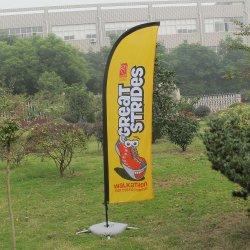 4,5 m 5,5 m Rectângulo Personalizar o slogan do evento Banner Display pavilhão com tubo de aço Flagpole