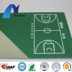 Anti UV Silicon PU couche élastique Qt Tennis de Table de basket-ball Sports de terrains de futsal de planchers à surface piste de course athlétique
