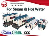 Caldaia diesel industriale del gas della biomassa di vapore del riscaldamento verticale elettrico del generatore