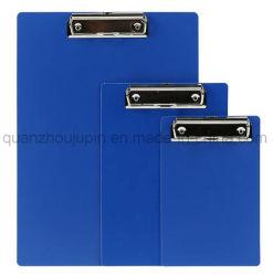 Plastique OEM A4 A5 A6 du dossier de presse-papiers du Conseil de Clip