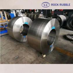 Fundición centrífuga carbono acero aleado de hierro Ductil// Rodillo de molino de bolas eje anillo
