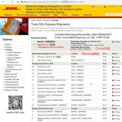 中国各戸ごとのノルウェーヨーロッパの安い価格のDropshippingサービスから渡される明白な郵送物