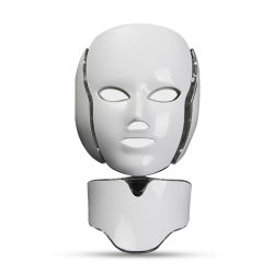 O rejuvenescimento da pele embranquecimento da máscara facial PDT levou a terapia da luz