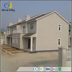 Casa de Playa Móvil Galvanizado Contenedor de Vacaciones Casa modular para la vida