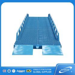 Mobile Stahl Container Laderampe Hydraulischer Container Laderampe Rampe Lift Truck Container Yard Rampe