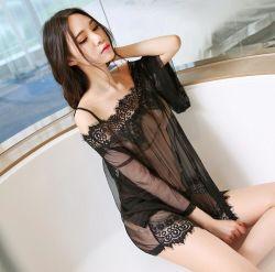 Chemise sexy della biancheria del merletto delle donne di alta qualità