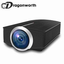 Multimedia-Pocket Projektor-höchste Auflösung 1920*1080 1200 der Hoch-Kosten Proformance Fabrik-Yg500 Mini-LED der Familien-