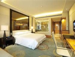 China 5 estrelas moderno mobiliário de quarto de hotel em madeira